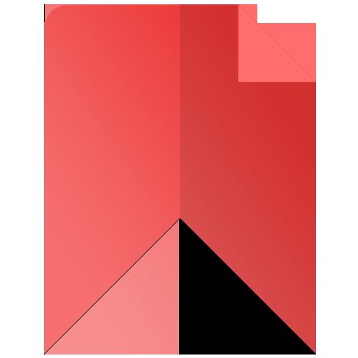 A bookmark icon