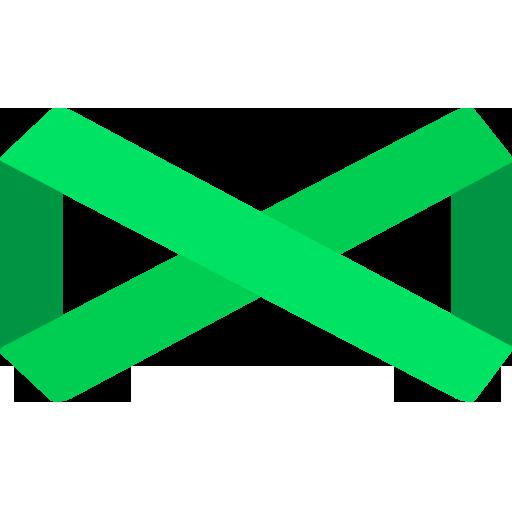 An infinity symbol
